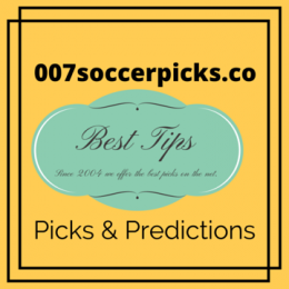 007 Soccer Picks – 1 x 2 Predictions – Try our live soccer picks ( 1